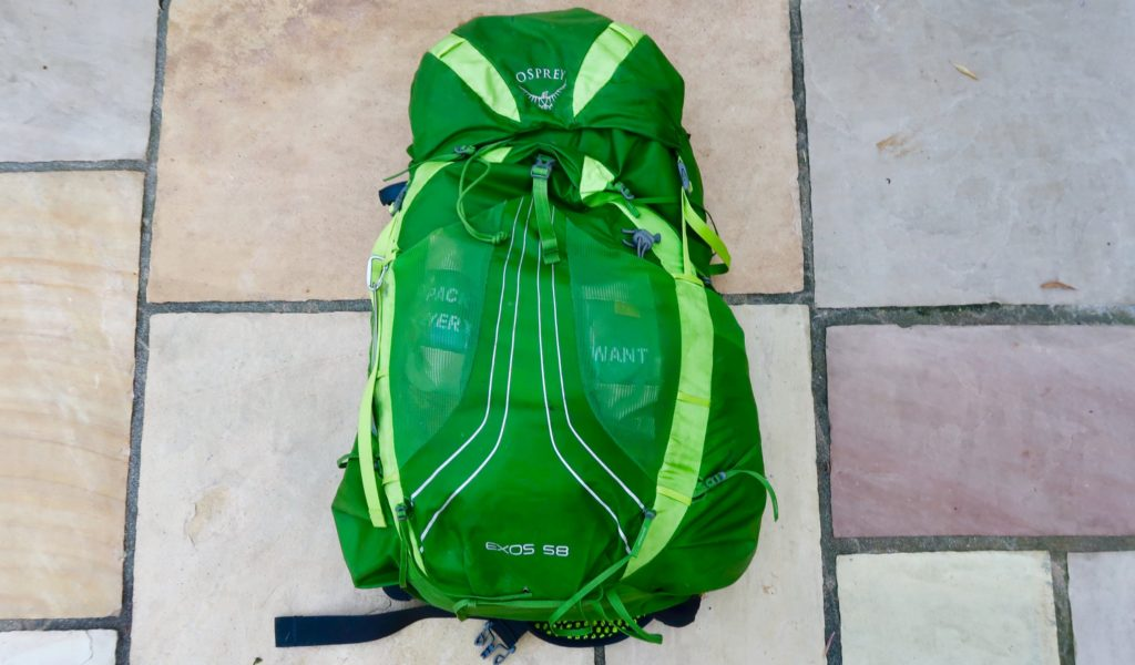 Osprey Exos 58 Review 2019