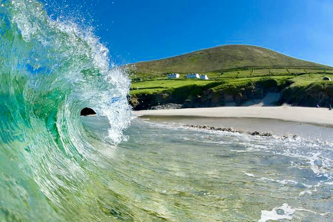 Camping on the Blasket Islands