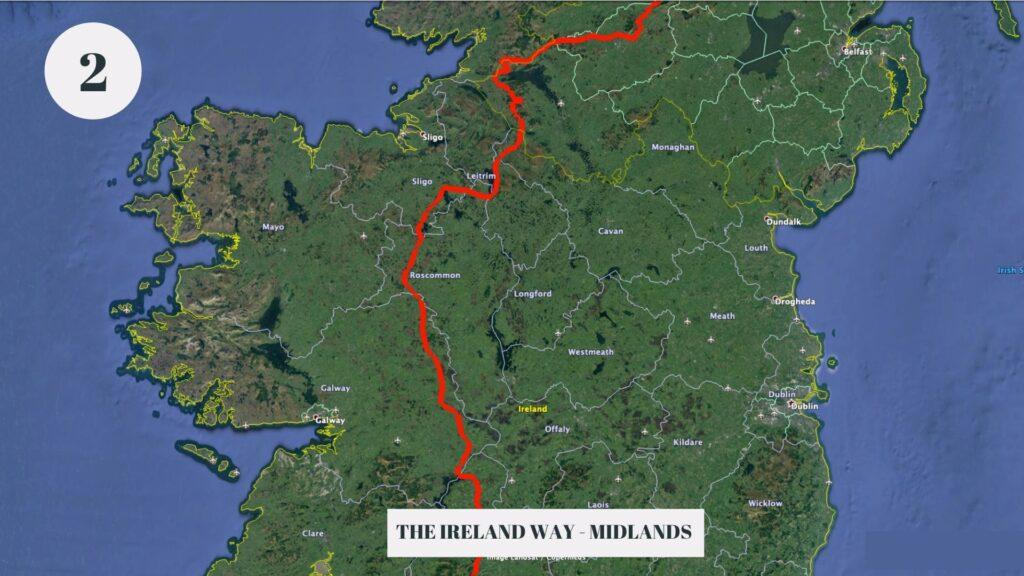 The Ireland Way Map